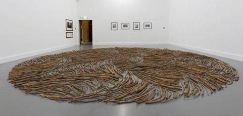 Help Save an Artwork! Wood Circle – Richard Long